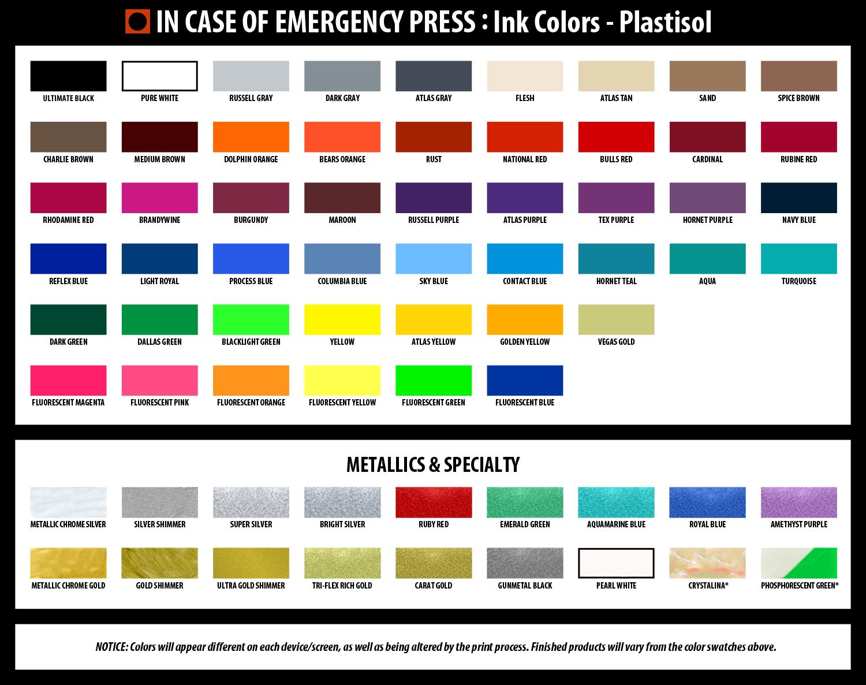 In Case Of Emergency Press Koozies